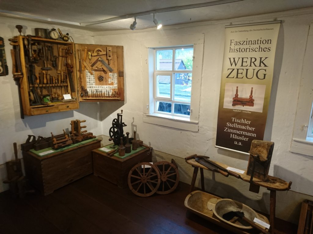 Ausstellung im Geoportal Steinarbeiterhaus Hohburg