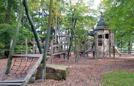 Waldspielplatz am Geoportal in Rochlitz