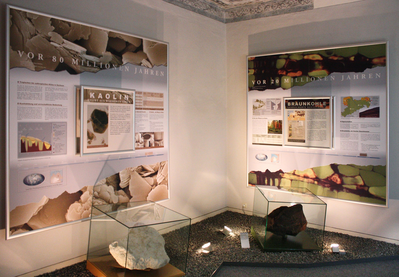 Zeit-Wandel-Stein-Ausstellung im Geoportal Herrenhaus Röcknitz