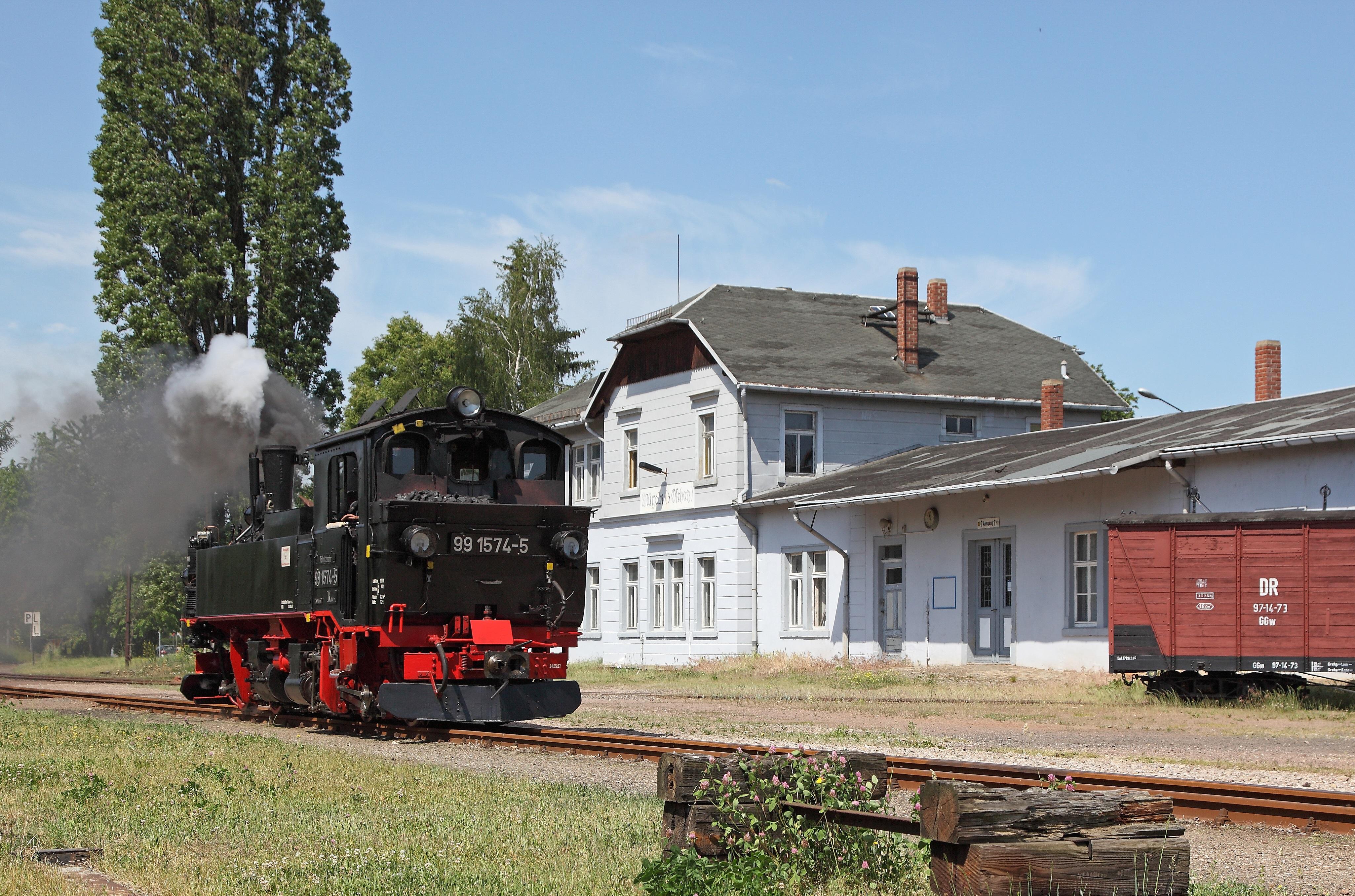 Bahnhof Mügeln, Foto: S. Geist