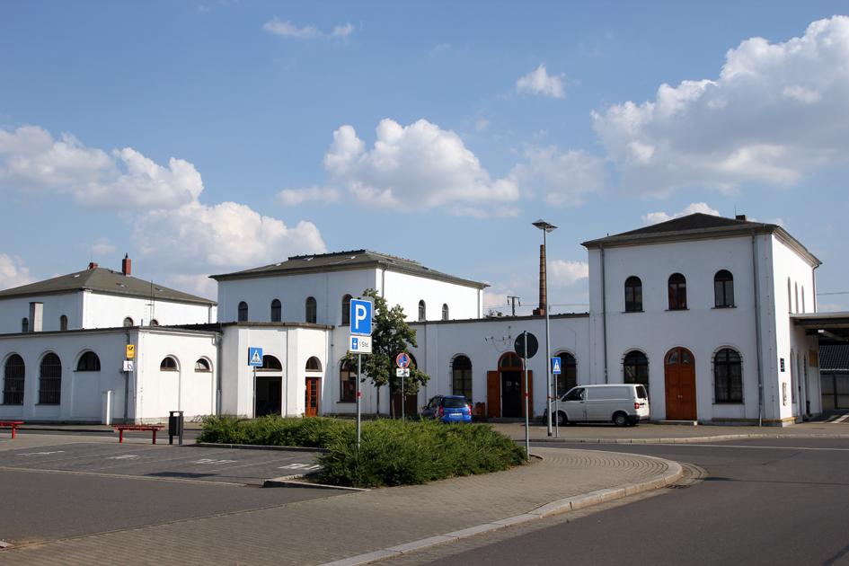 Wurzener Bahnhof als neues Besucherzentrum im Geopark?