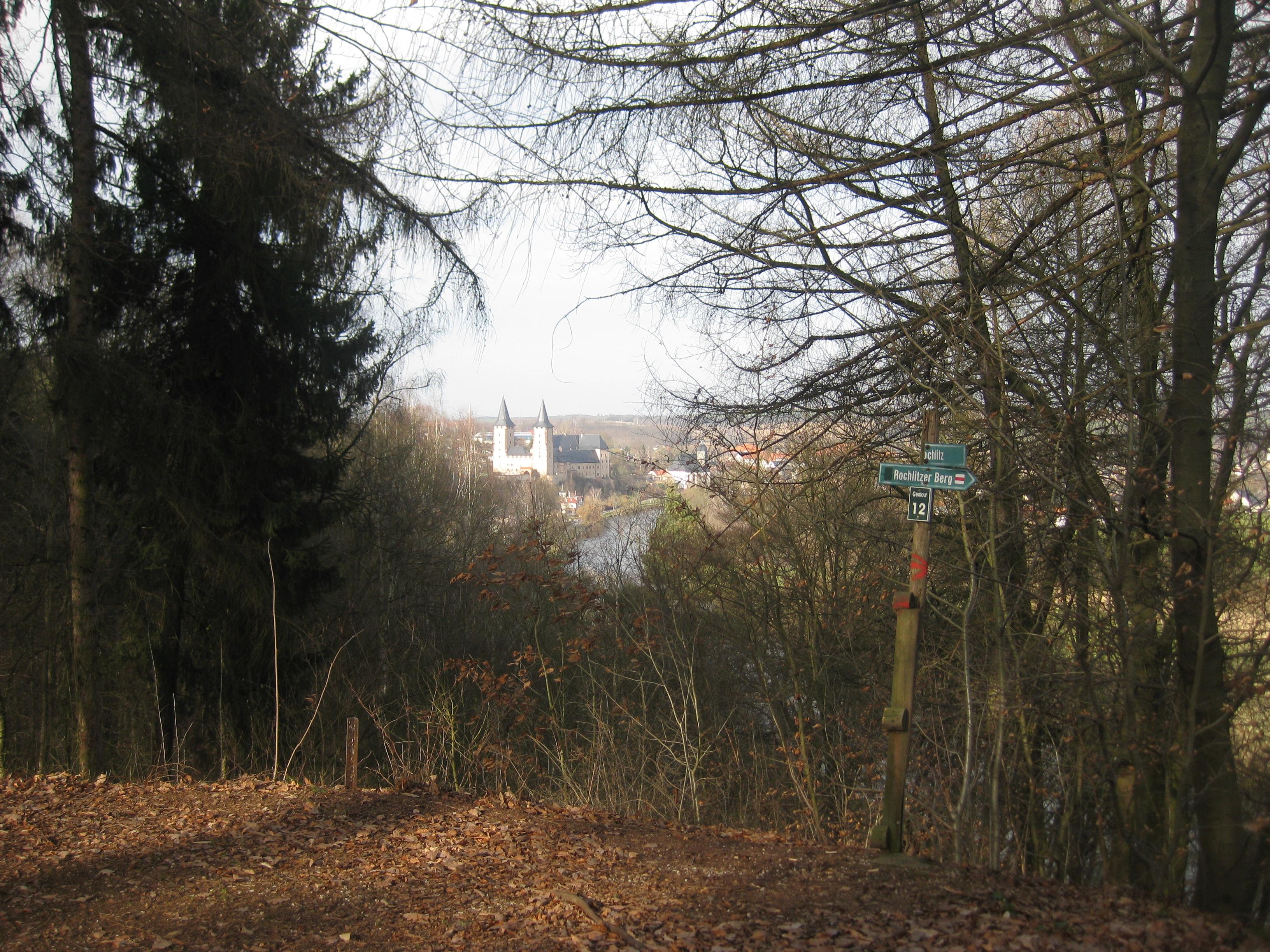 Blick vom Rochlitzer Berg