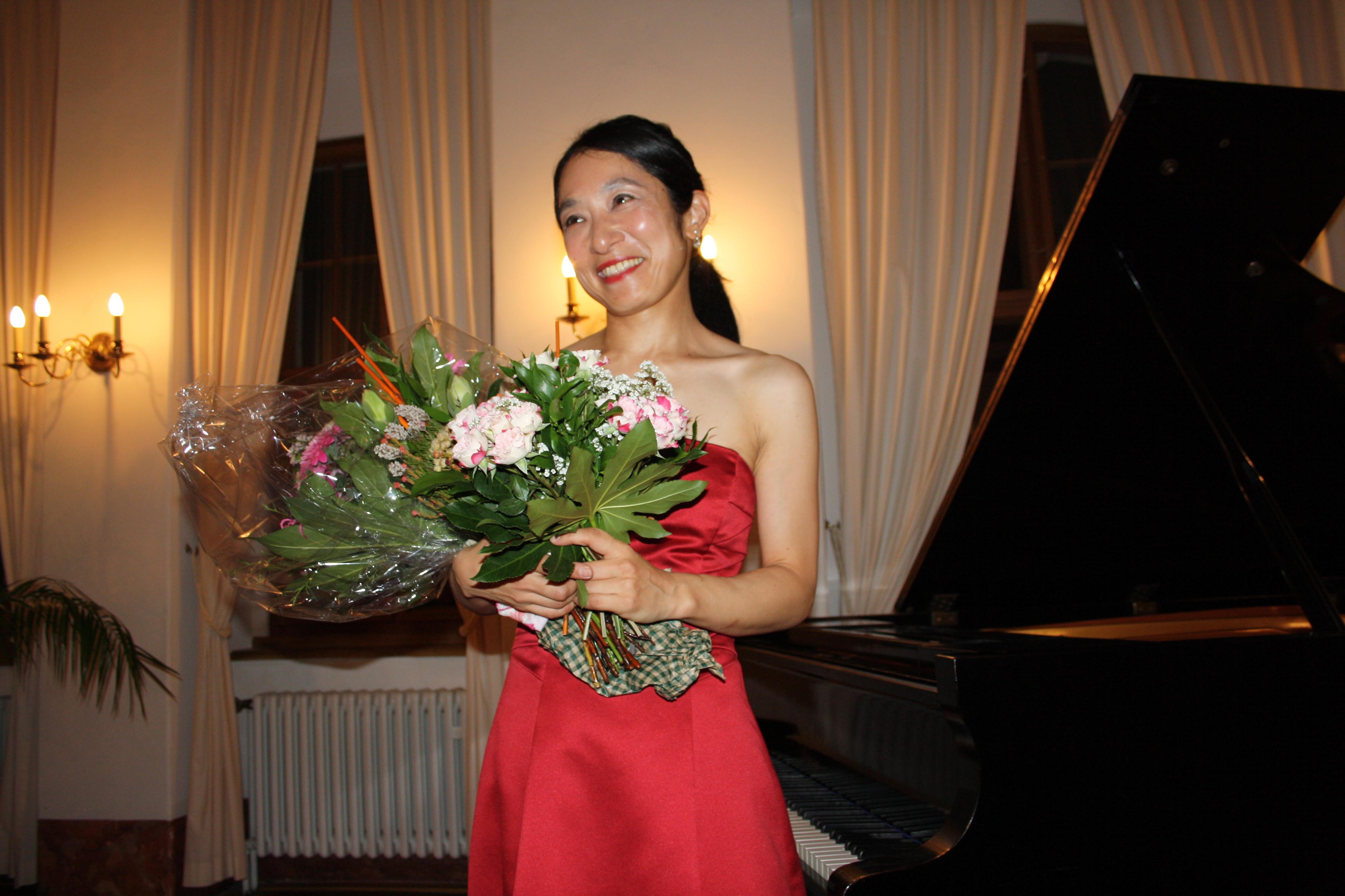 Klavierabend mit Kaoru Maruyama im Jagdhaus Kössern