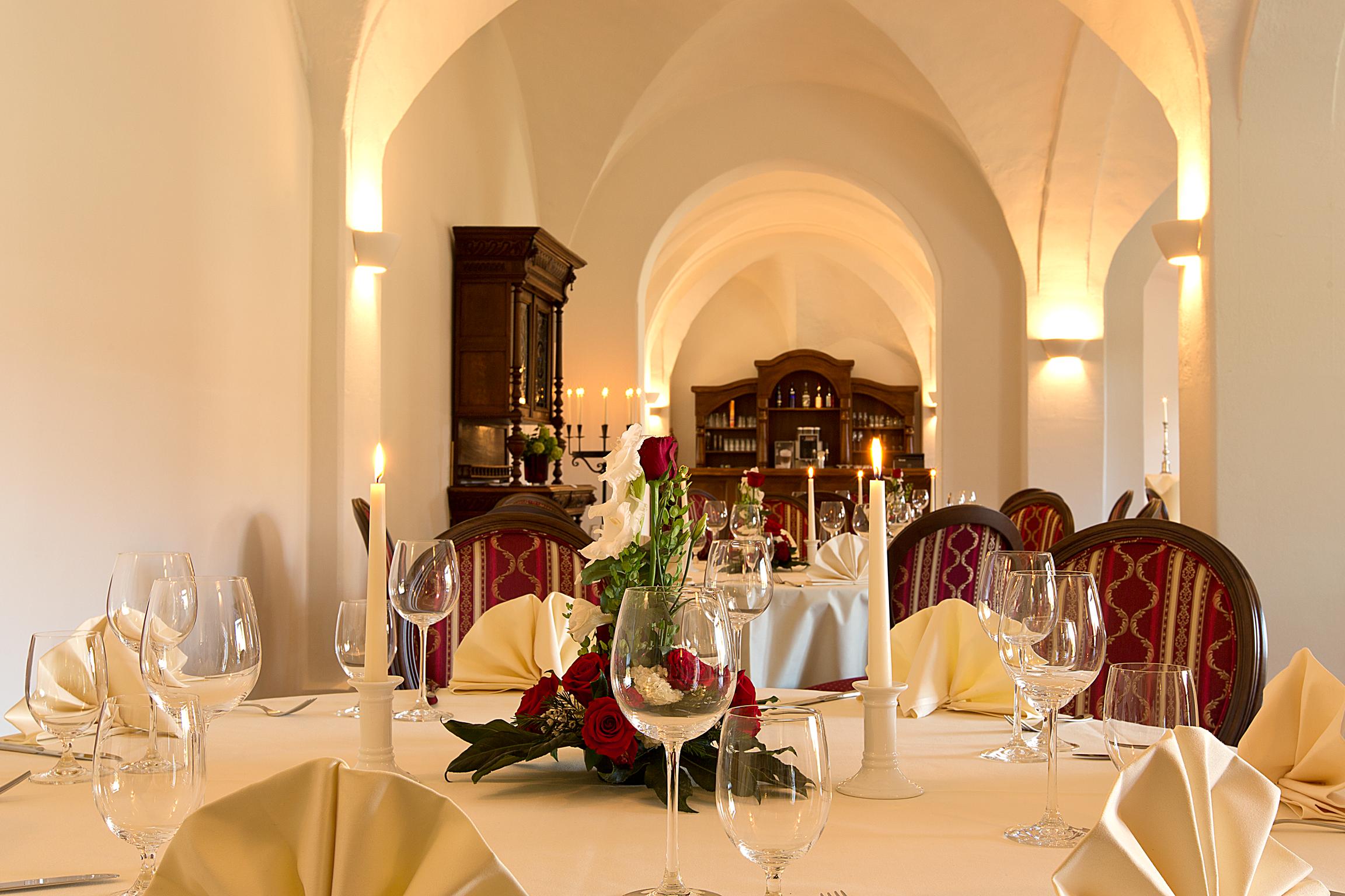Gewölbesaal, Foto: Kloster Nimbschen