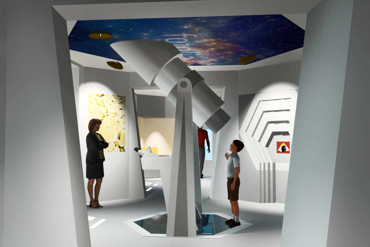 "Foto: 3D-Animation Geoportal ""Erlebniswelt Kaolin"" DESIGN & MULTIMEDIA Lars Hoschkara"