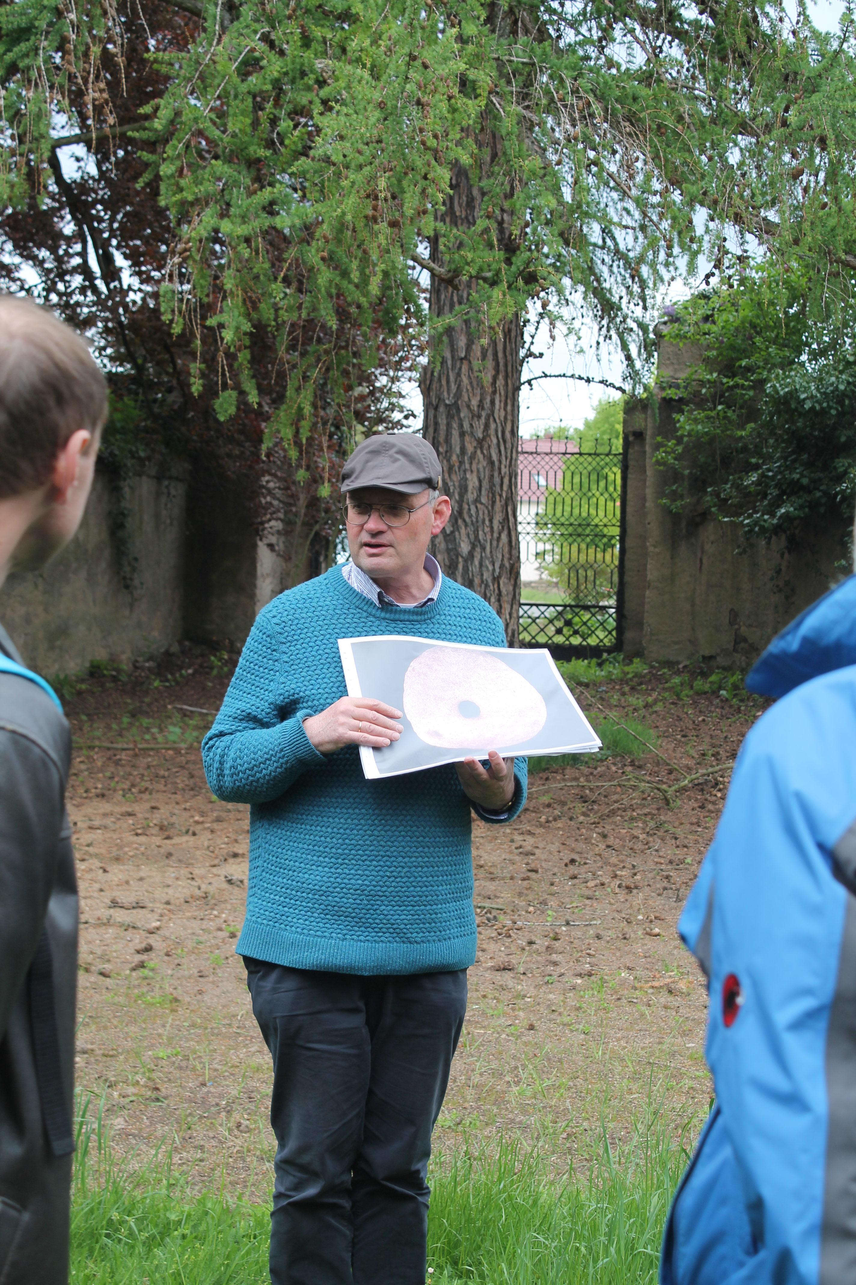 Foto: Herr Dr. Westphalen_Geopark Exkursion, N. Friedrich