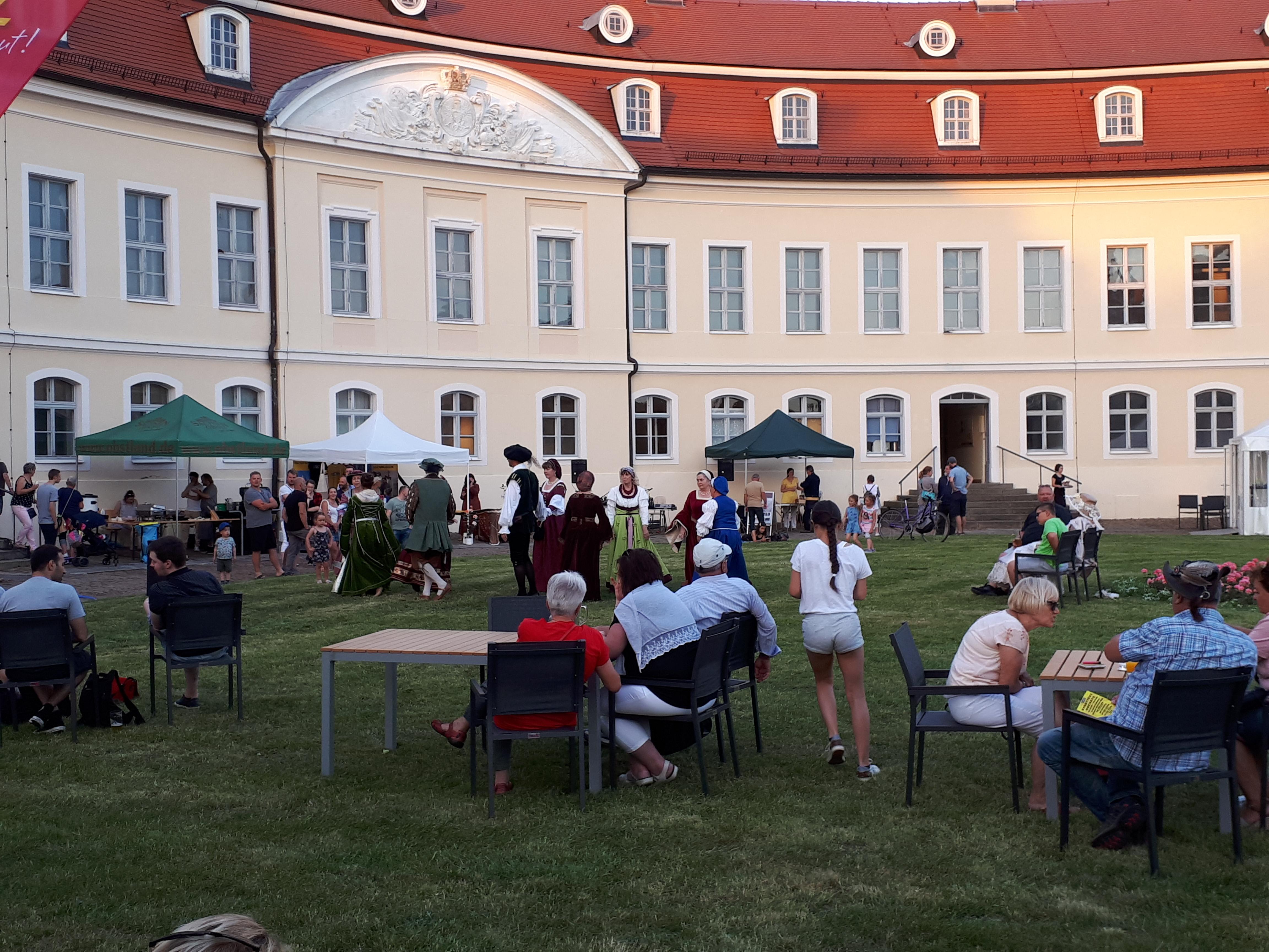 Foto: Schlössernacht in Wermsdorf, Geopark Porphyrland