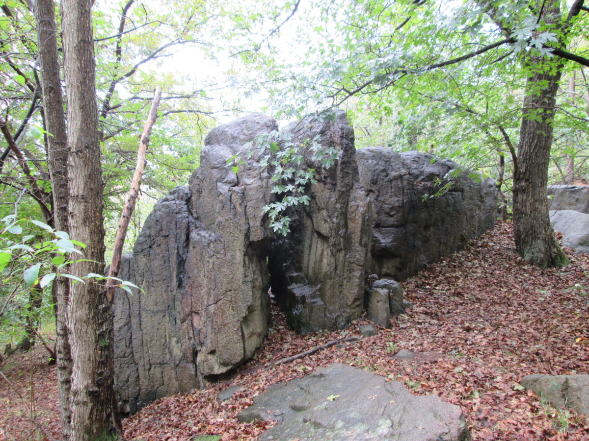 Naumann-Heim-Felsen, Foto: Archiv Geopark Porphyrland