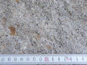 Detailaufnahme des Quarzporphyrs vom Gaudlitzberg, Foto: Anja Hartmann