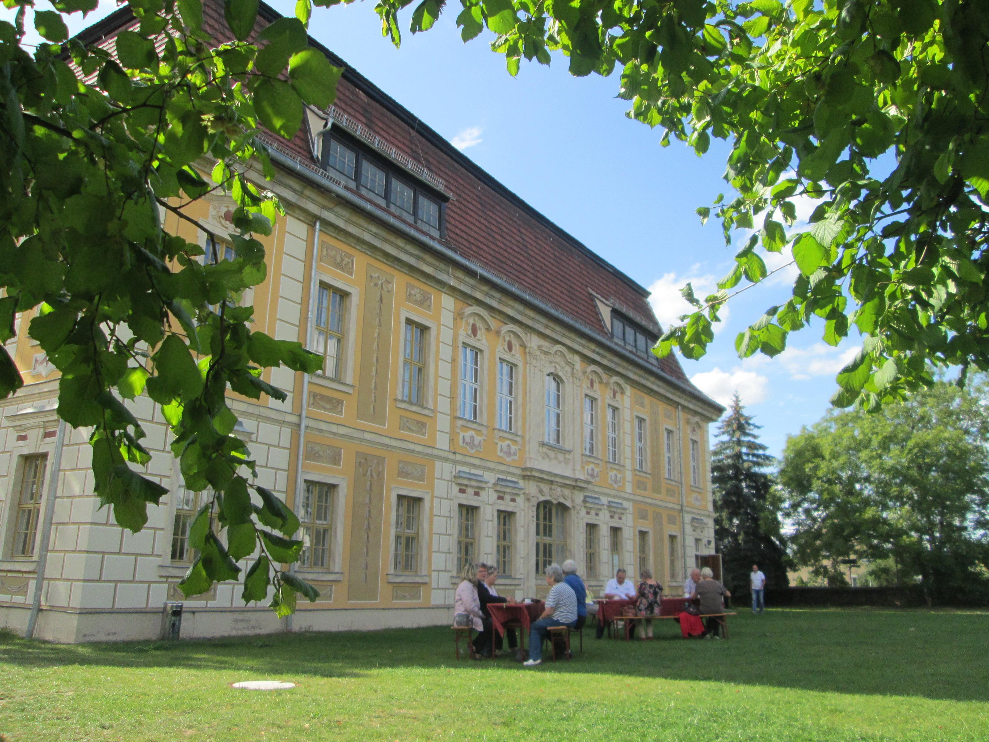 Jagdhaus Kössern Garten Baumeister Denkmaltag, Foto: Rolf Hofmann, Stadt Grimma