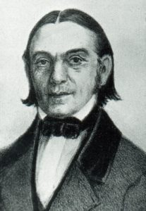 Porträtaufnahme Carl Friedrich Naumann