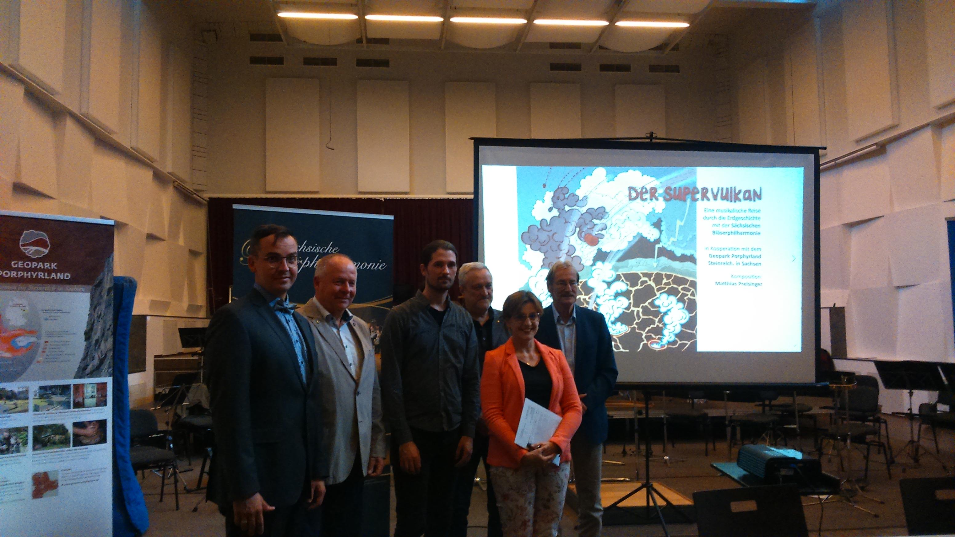 """Pressekonferenz """"Der Supervulkan"""", Foto: N. Friedrich"""