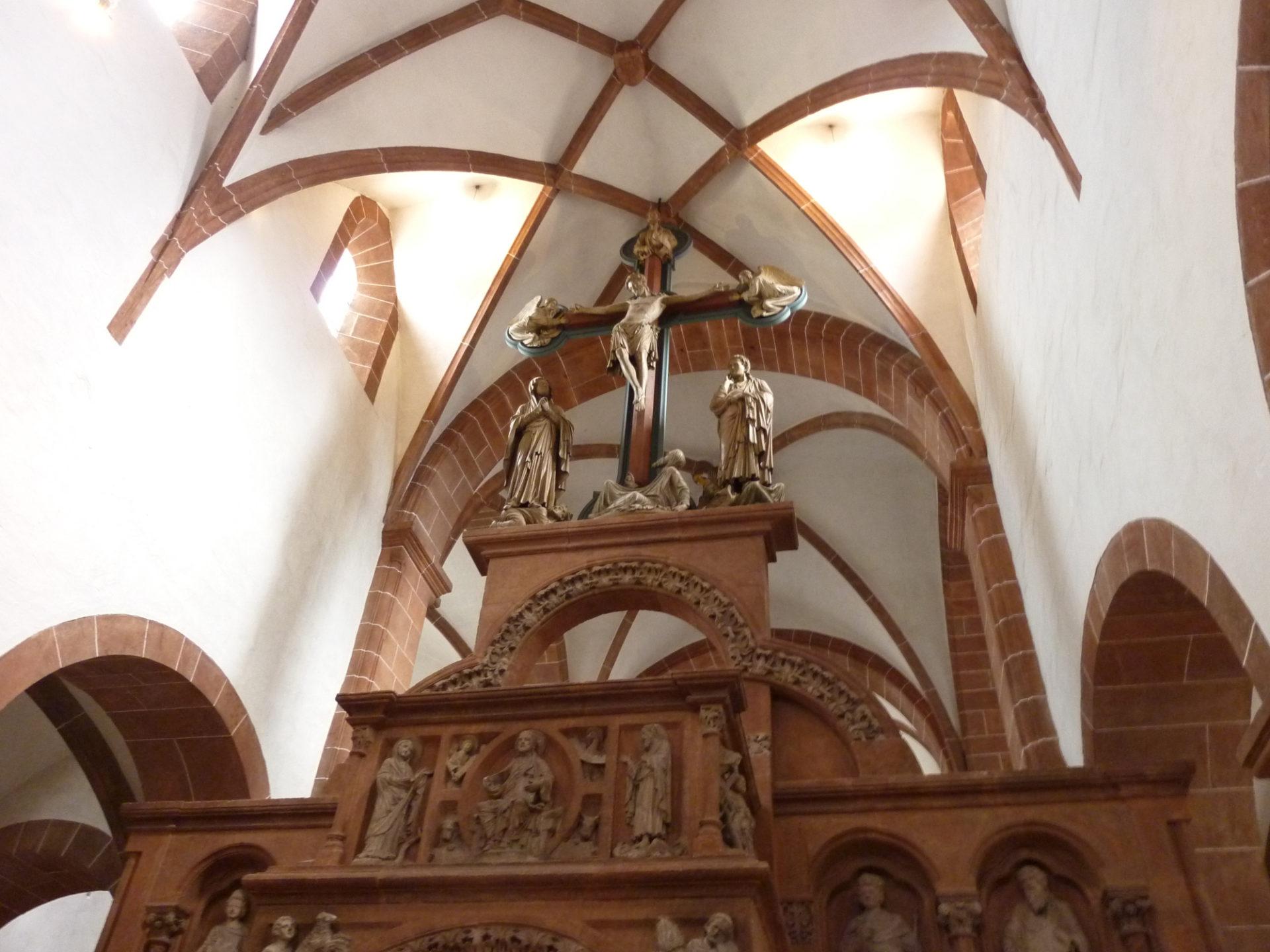Basilika Wechselburg, Innenansicht, Foto: HVV Rochlitzer Muldental