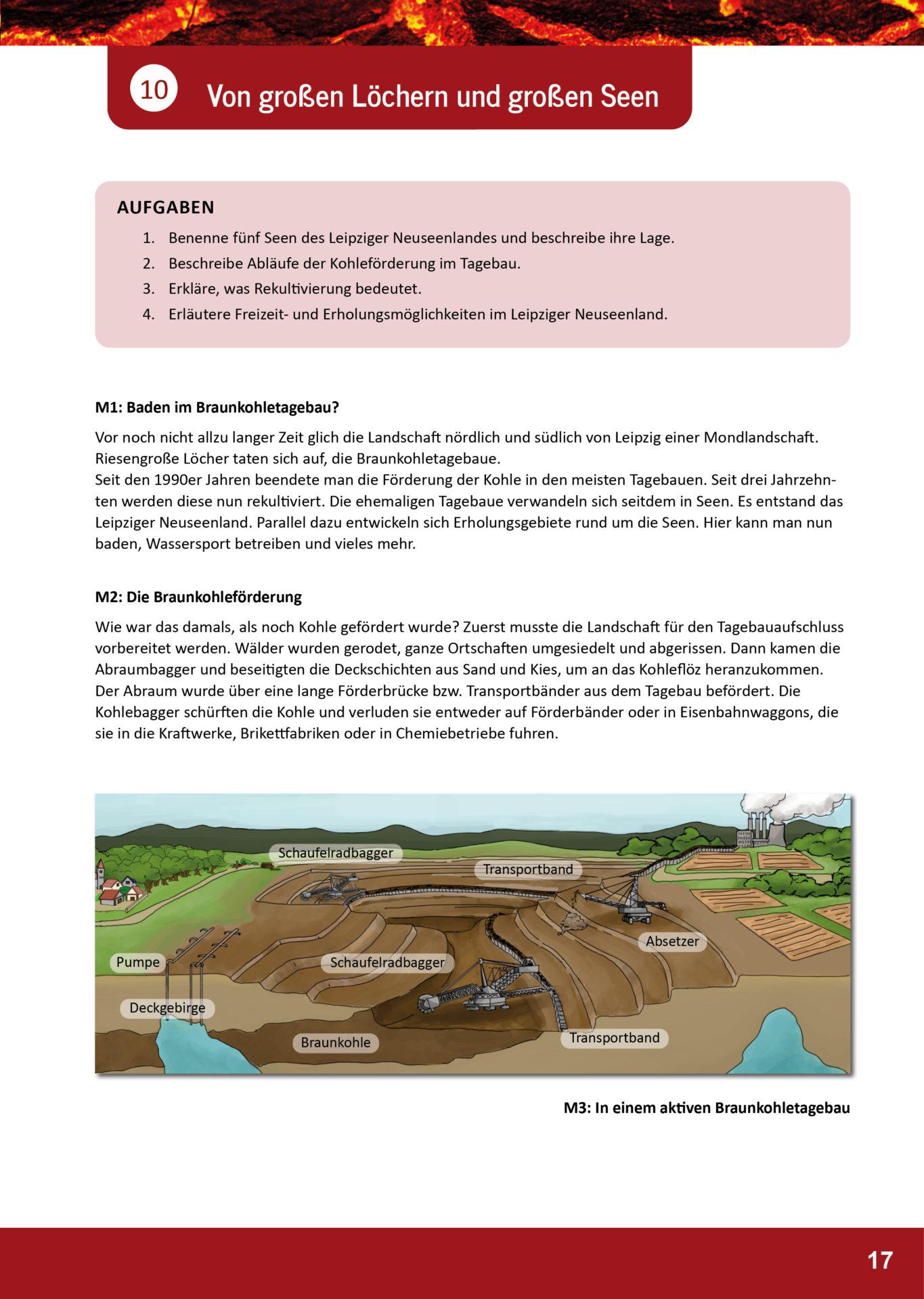 Arbeitsblatt Geopark Porphyrland 10