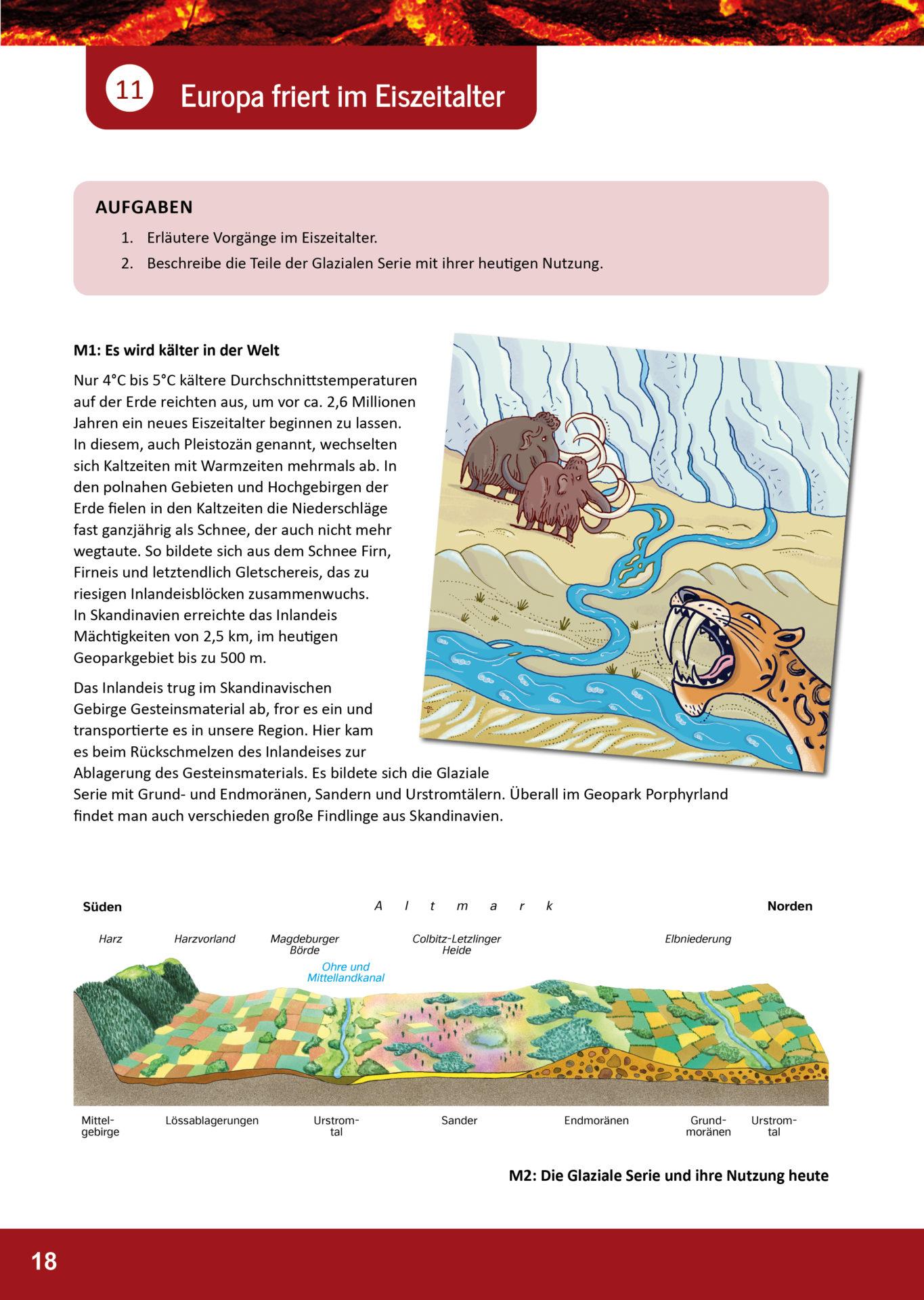 Arbeitsblatt Geopark Porphyrland 11