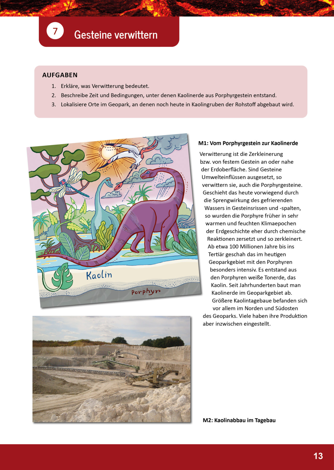 Arbeitsblatt Geopark Porphyrland 7