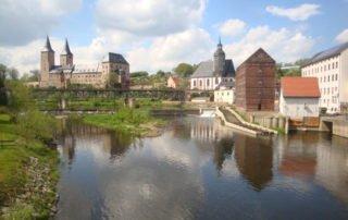 Blick auf Schloss Rochlitz